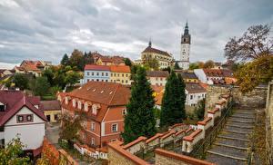 Фотографии Чехия Здания Лестницы Litomerice