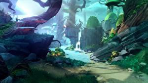 Картинка Фантастический мир Battleborn Игры 3D_Графика Фэнтези