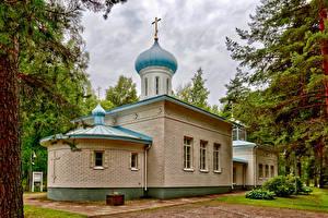 Картинка Финляндия Храмы Церковь Orthodox Church Porvoo