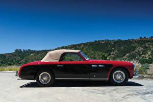 Обои Форд Винтаж Тюнинг Металлик Сбоку 1952 Siata-Ford 208S Cabriolet Speciale Stabilimenti Farina Автомобили
