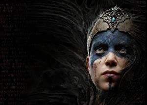 Фотография Hellblade: Senua's Sacrifice Лицо Смотрит Игры