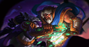 Обои Heroes of the Storm Zeratul, Dark Prelate, Uther, The Lightbringer Фэнтези