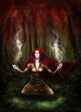 Обои Волшебство Ведьма Фантастика