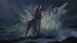 Фото Волшебные животные Волки