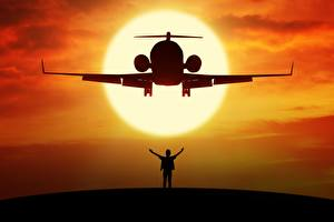 Обои Самолеты Пассажирские Самолеты