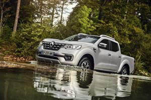 Обои Renault Вода Серебряный 2017 Alaskan Worldwide машина