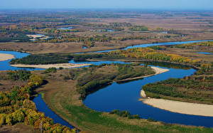 Фотография Россия Реки Осенние Леса river Urmi Habarovskij kraj Природа