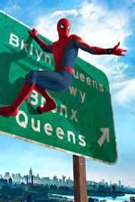 Картинки Человек паук герой Человек-паук: Возвращение домой