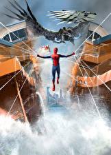 Фотографии Человек паук герой Человек-паук: Возвращение домой Паутиной