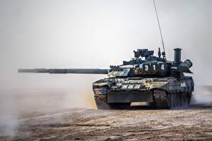 Фотографии Танки Российские T-80UE-1