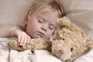Фотографии Мишки Спящий Ребёнок