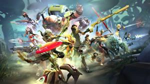 Фотографии Воины Лучники Battleborn Игры