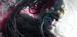 Картинка Воители Вблизи Дреды Hellblade: Senua's Sacrifice Голова Игры