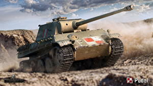 Фото WOT Танки Немецкий Panther Ausf.G, Pudel