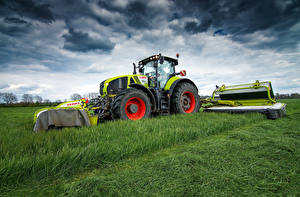 Фотография Сельскохозяйственная техника Поля Трактор 2011-17 Claas Axion 950