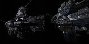 Картинки Чужой: Завет Звездолёт Корабль кино Космос Фэнтези