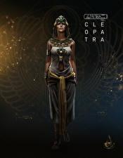 Фотографии Assassin's Creed Origins Cleopatra Девушки