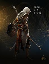 Фотография Assassin's Creed Origins Воины Лучники Лук оружие Bayek