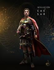 Обои Assassin's Creed Origins Воины Ceasar