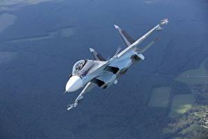 Фото Самолеты Истребители Су-30 Русские SM