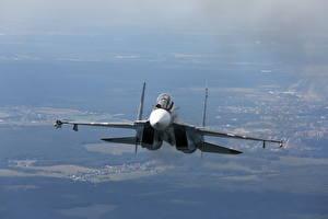 Фотография Самолеты Истребители Су-30 Российские Su-30SM
