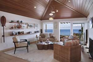 Картинки Интерьер Дизайн Гостиная Кресло Потолок