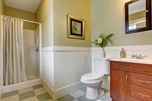 Обои Интерьер Дизайн Туалет