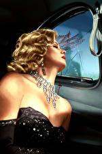 Фото L.A. Noire Блондинка Кровь Мертвый труп Девушки