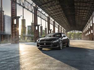 Фотографии Мазерати Серый Металлик 2017 Quattroporte GTS GranSport Авто
