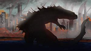 Фотографии Монстры Godzilla