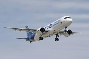 Фотографии Самолеты Пассажирские Самолеты Российские MS-21-300