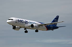 Картинки Самолеты Пассажирские Самолеты Российские MS-21-300