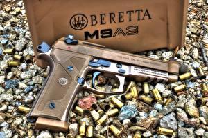 Обои Пистолеты Крупным планом M9A3, Beretta