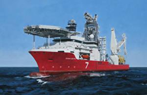 Картинки Корабли Рисованные Seven Arctic