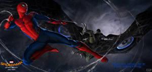 Фотографии Человек-паук: Возвращение домой Человек паук герой Герои комиксов Фильмы