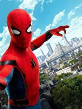 Фото Человек-паук: Возвращение домой Человек паук герой Герои комиксов Кино