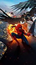 Картинка Человек-паук: Возвращение домой Человек паук герой Супергерои