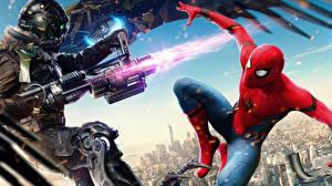 Картинка Человек-паук: Возвращение домой Человек паук герой Герои комиксов Фильмы
