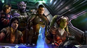 Картинка Звездные войны Воители Инопланетяне Rebels, season 4