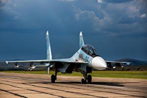 Обои Су-30 Самолеты Истребители SM Авиация картинки