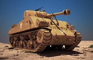 Картинка Танки M4 Шерман 3Ds, MAX M4A3 Армия
