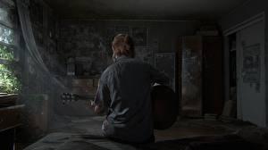 Картинка The Last of Us 2 Вид Гитара Ellie Игры