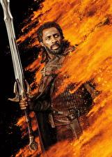 Фотография Тор: Рагнарёк Мужчины С мечом Негр Idris Elba кино