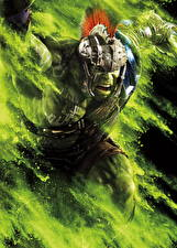 Картинки Тор: Рагнарёк Воины Халк герой Крик