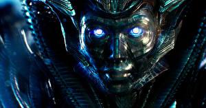 Картинки Трансформеры: Последний рыцарь Крупным планом Робот Quintesson, Quintessa Фильмы