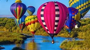 Обои США Воздушный шар New Mexico Albuquerque