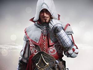 Фотография Воины Мужчины Assassin's Creed Капюшон Identity, Trickster Игры