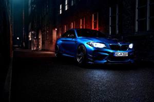Картинка БМВ Синий Купе F87