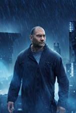 Фотографии Бегущий по лезвию 2049 Дождь Мужчины Dave Bautista Кино