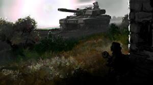 Картинки Command & Conquer Generals - Zero Hour Танки Игры